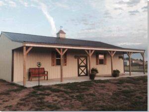 Oklahoma barn home builder